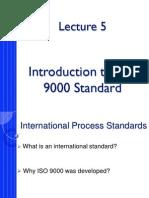 International Process Standards to Distribute