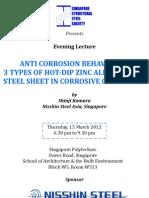 SSSS-Nisshin Steel Sponsored Evening Lecture (15Mar)