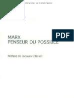 Michel Vadée - Marx penseur du possible