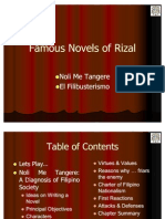 Famous Novels of Rizal Part2