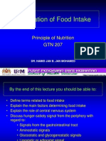 Regulation of Food Intake