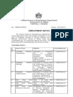 SSA Adhoc Appointments_ 2012