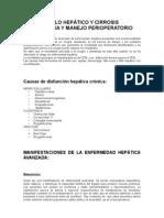 Fallo Hepatico y Cirrosis