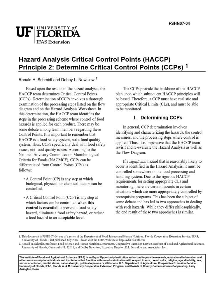 Prinsip 2 hazard analysis and critical control points food safety geenschuldenfo Gallery