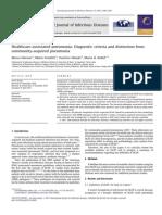 HCAP - Dx criterias