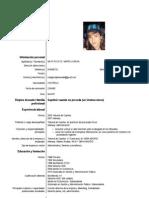 Curriculum Lorena M