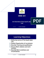 an Overview of the Saudi Labor Law