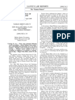 Lloyd's Law Reports- Tasman Orient Line Cv v New Zealand China Clays and Others (the -Tasman Pioneer