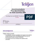 Price Bench Marking for Arab Countries 2009