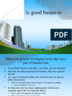 Ethics is Good Business PPT @ BEC DOMS
