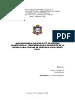 TRABAJO SOBRE REFORMA CONSTITUCIONAL( Oberto - Cordoliani)