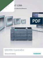 Catalogue Plc Siemens s7 1200