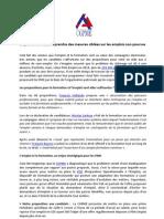 CGPME - Tribune Emploi et formation
