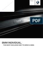 Catalogue Bmw Individual m3 En