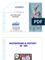 ISO 270012005 Awareness