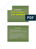 Chap.1 Processing of Iron and S