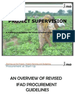 IFAD Supervision Training 2012 Final_procurement