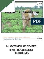 IFAD Supervision Training 2012 Final_procurement