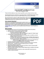 BXP Quick Start Guide