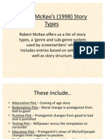 Robert McKee's (1998) Story Types