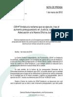 NP_1marzo_CSIF-A_JUSTICIA