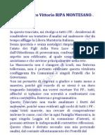 Sul Crinale - Tavola Massonica del Fr.·. Ripa Montesano.·.