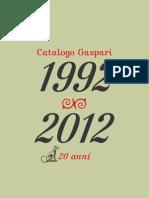 Catalogo Generale 2012 Gaspari Editore