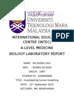 Spirometry Report