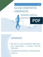 ISOMERIA EM COMPOSTOS ORGÂNICOS