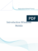 Introduction Windows Mobile