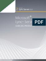 Guia de Producto Lync Server 2010