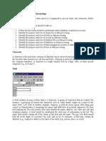 Understanding Database Terminology