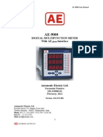 AE 9000 USERS MANUAL With Printer Interface