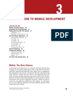 Intro to Mobile Development