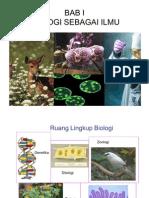 Bab1 Biologi Sbg Ilmu