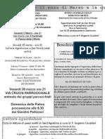 Foglio Avvisi Quaresima_foglio Parrocchiale
