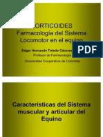 Corticoides. Farmacología del Sistema Locomotor en el equino - RED