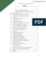 EMF Testing Notes(Glare Technocons Pvt. Ltd.)
