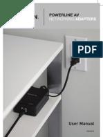Belkin Powerline Adaptor Manual