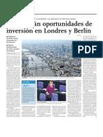 Feria de Negocios en Londres y Berlín