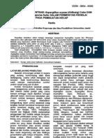 Pengaruh Konsentrasi Dan Jenis Jamur Terhadap Protein Jamur