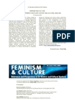 Feminism and Culture
