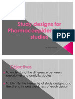 2,3 Types of Study Designs.