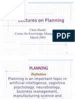 March2003 Planning Lecture