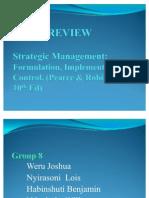 Strategic Management(1 4)
