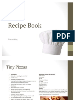 Recipe Book for Early Childhood