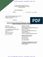 SEC vs. LPHI - Defendant's Motion to Dismiss