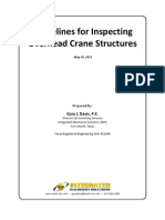Guidelines for Inspecting Overhead Crane Structures - Full version
