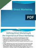 Direct Mktg Principle & Practice PPT by Prof Gita ran