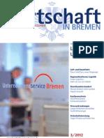 Wirtschaft in Bremen 03/2012 - Unternehmensservice Bremen